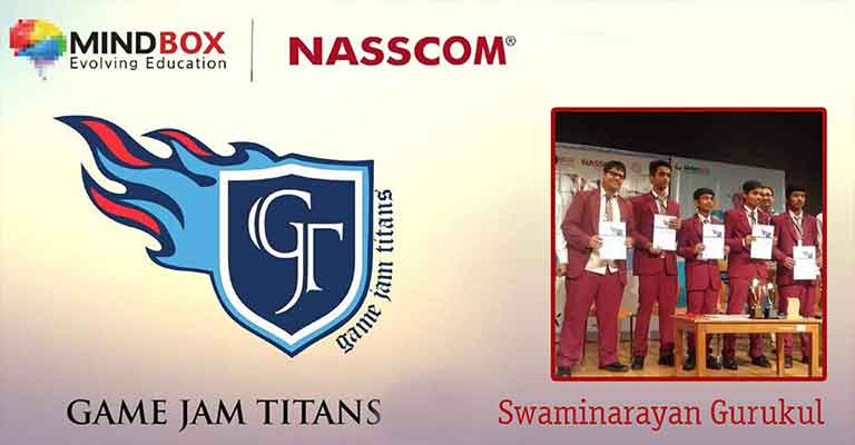 Game Jam Titans (3rd Rank in Hyderabad for Game Designing)