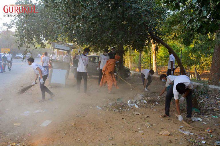 clean india hyderabad international school swachh bharat
