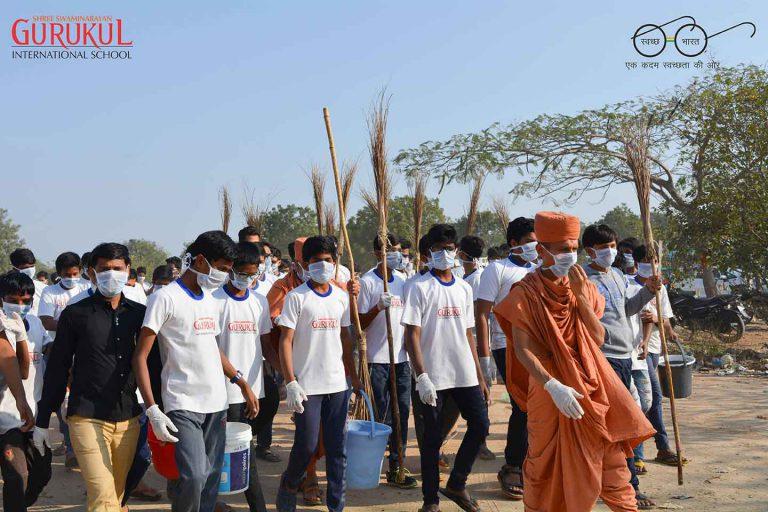 clean india hyderabad international school swachh india