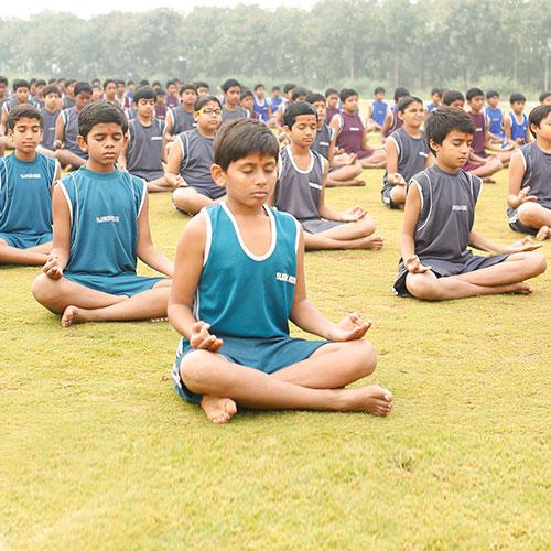 best International schools in vijayawada | Yoga activities in school vijayawada