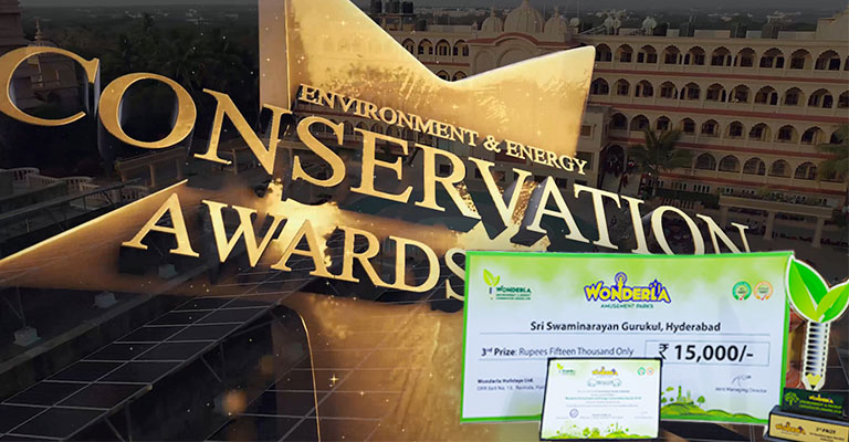 Environment & Energy Conservation Wonderla Awards 2018-19