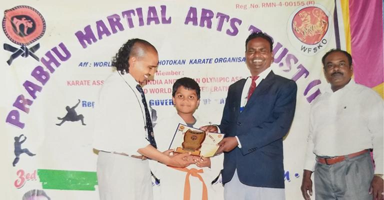 Karate Compitation Certificate