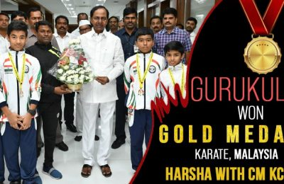 Gurukulite won Gold Medal in International Karate, Malaysia