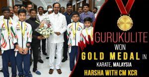 Gurukulite won Gold Medal in International Karate, Malaysia