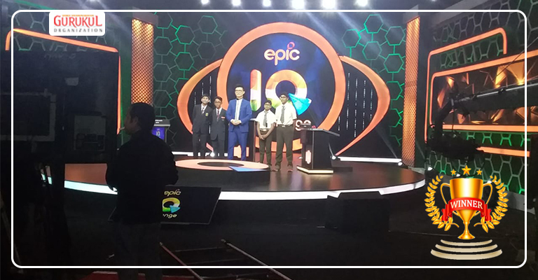 Gurukulites in National Quiz Competition , by EPIC Channel