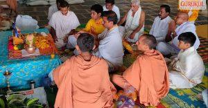 Mahapuja & Padharamani at Gadwal, Gurukulites Home