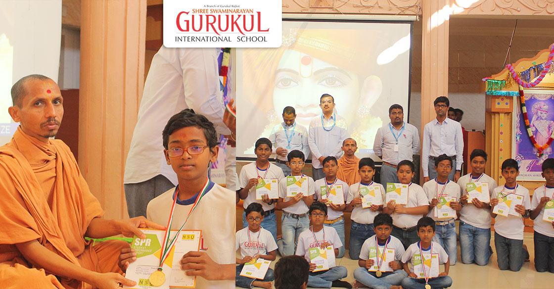 National & International Olympiad Winners – Gurukul Jadcherla