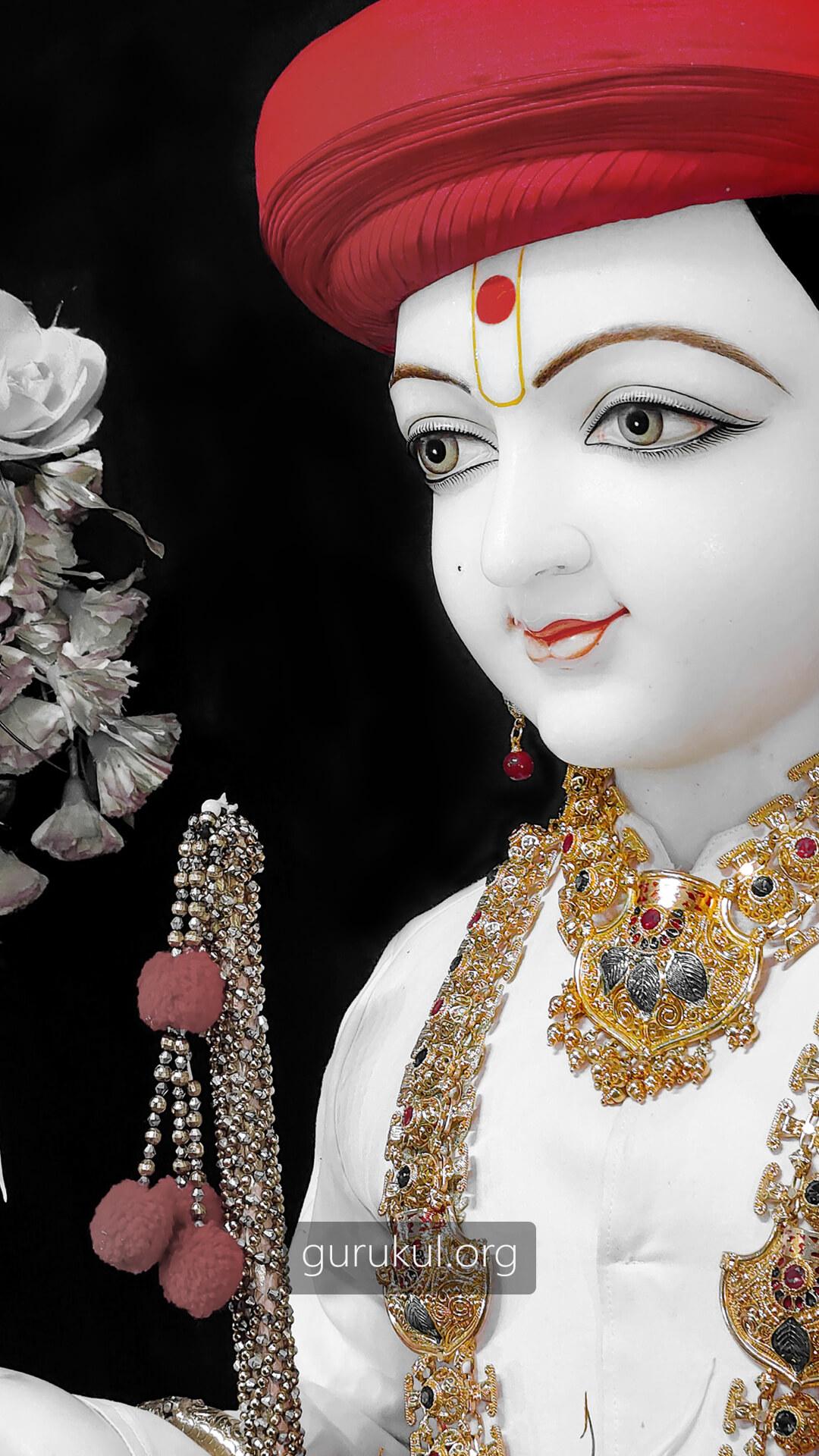 Ghanshyam Maharaj Mobile Wallpaper